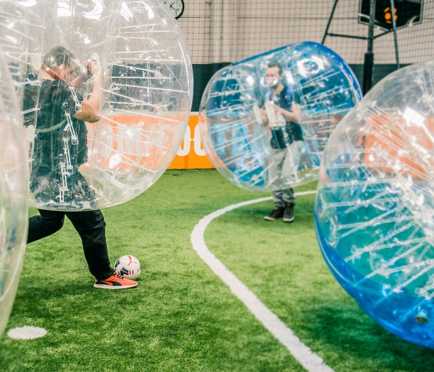 fun & sports activité bubble foot